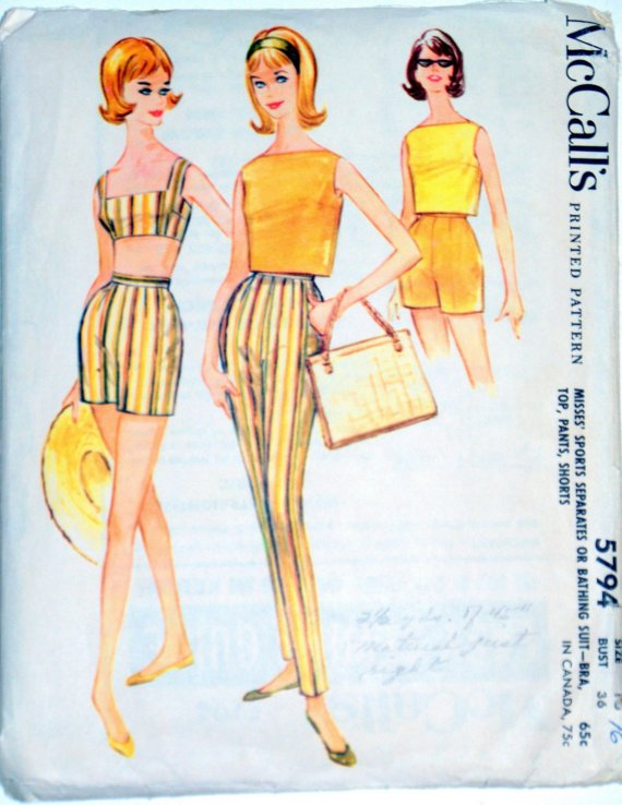 1961, mccalls, patterns, summer, oc blogger bash